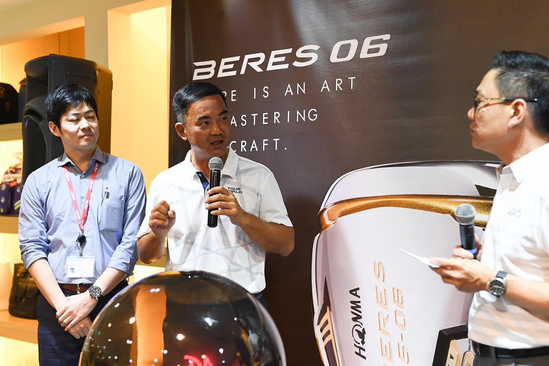 Honma BERES 06 Launch