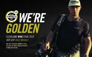 Cleveland Wins Four 2019 Hot List Golf Medals