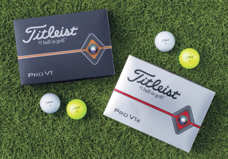 Titleist Introduces New Pro V1 and Pro V1x Golf Balls – Engineered for More Speed
