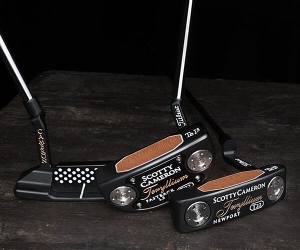 Titleist Limited Edition Teryllium Putters