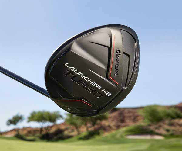 CLEVELAND GOLF INTRODUCES LAUNCHER HB TURBO WOODS: GO FASTER