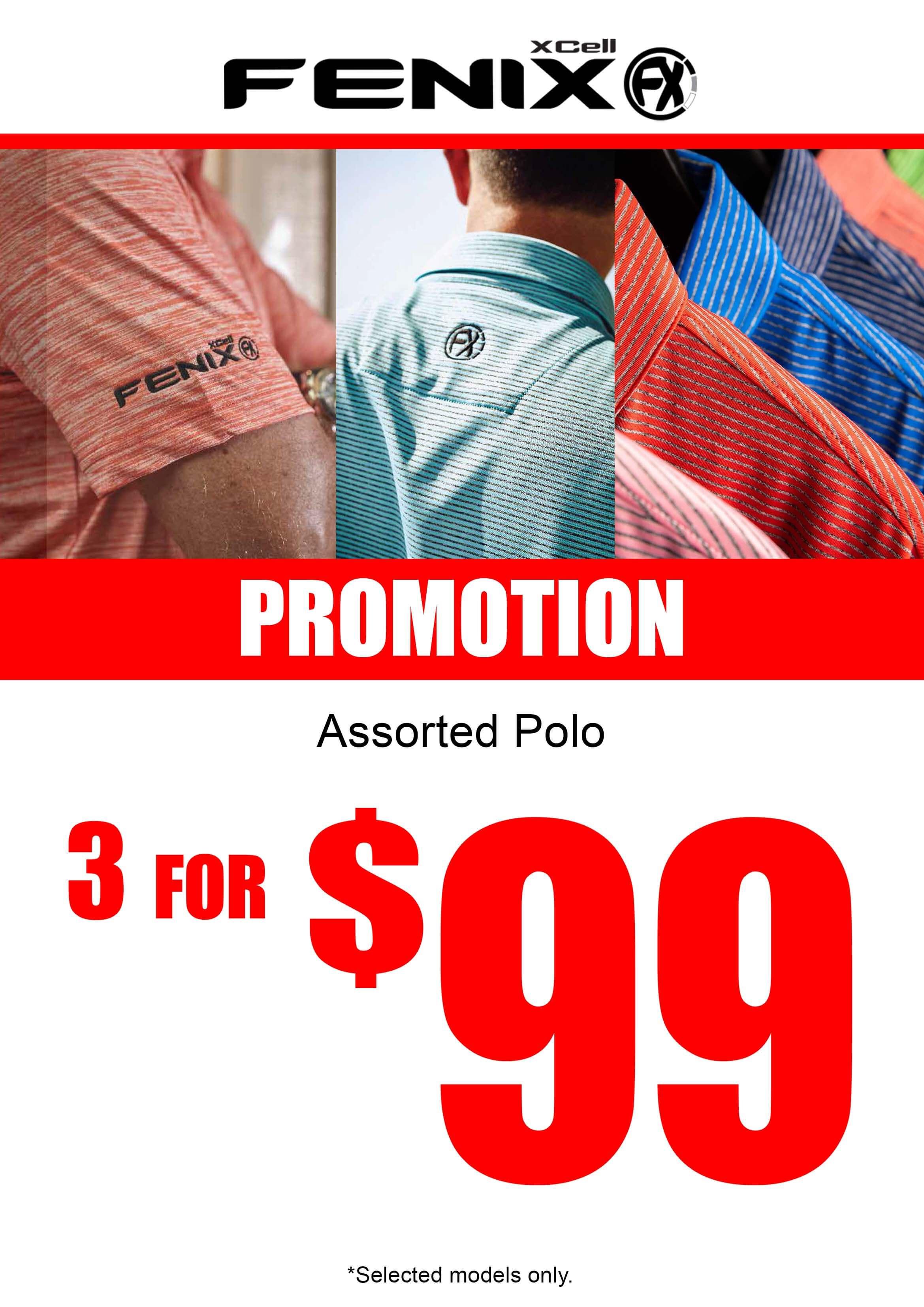 Fenix Apparel Promotion