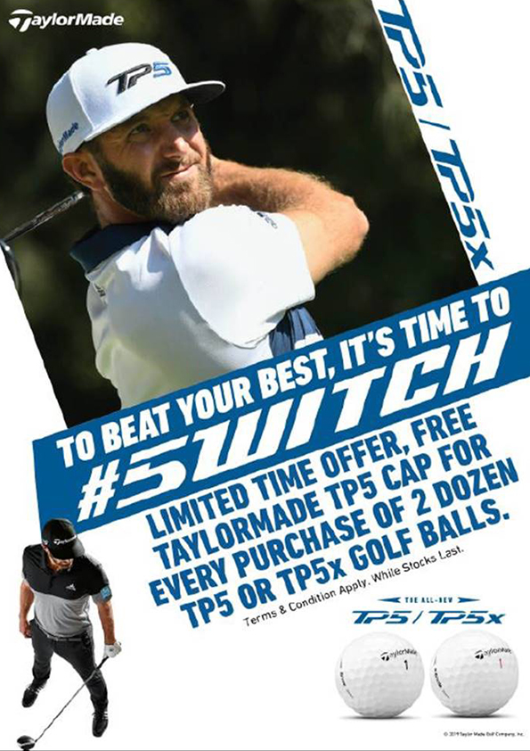 TaylorMade Golf Balls Promotion