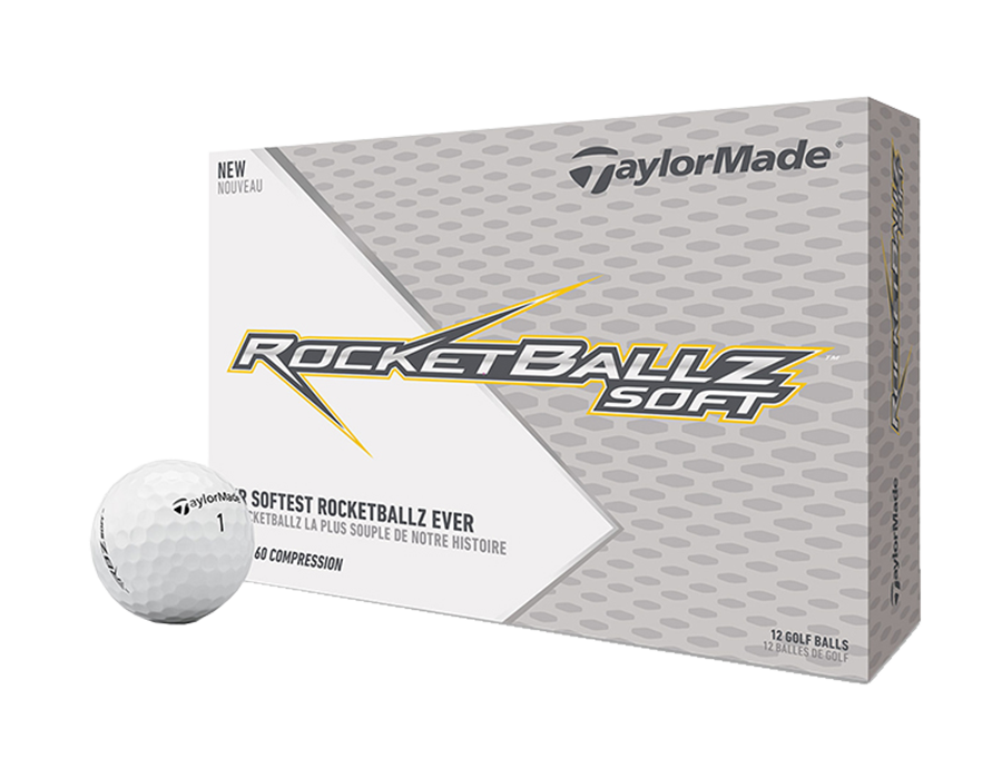 RBZ Soft RBZ Soft is ideal for intermediate players looking to add an extra touch to their game. The balls feature a three layer construction with an RBZ core for maximum distance with a soft feel, speedmantle technology.