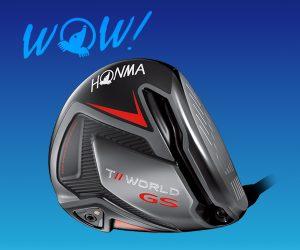 Honma Tour World GS – Gain Speed Technology