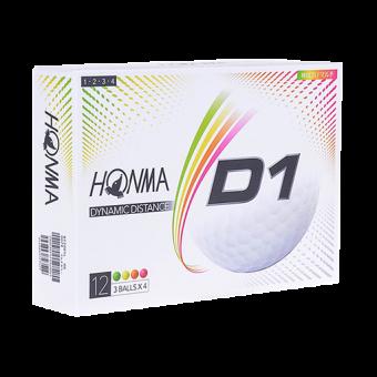 Honma D1 Golf Balls - Multicolour