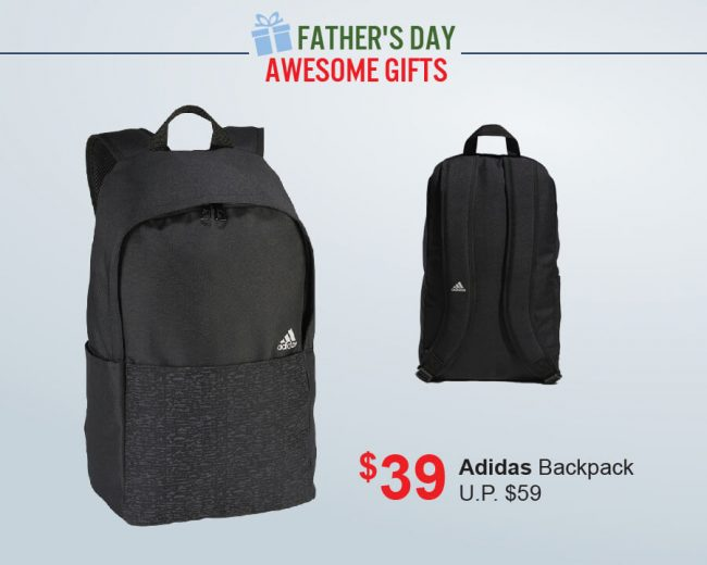 Pan-West Father's Day Adidas Backpack