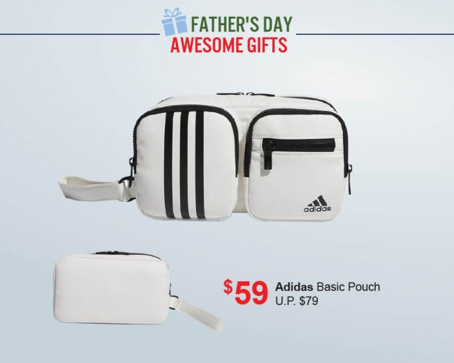 Pan-West Father's Day Adidas Basic Pouch